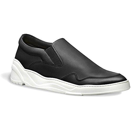 Dior Men's Black Leather Slip-ons Shoes - Size: 39 - Shoes Mens Dior