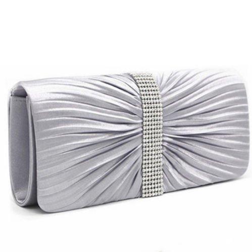 Pochette pour silver femme femme Pochette Vincenza Vincenza silver pour qp5gUTx