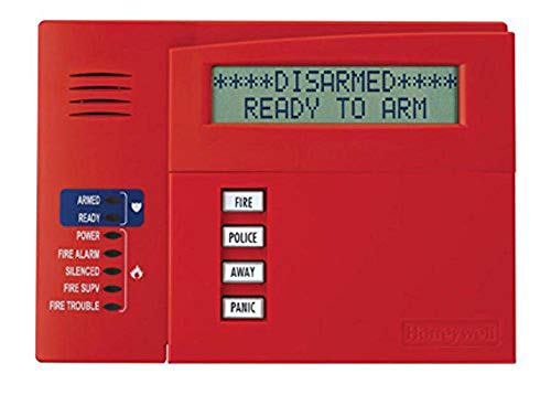 Honeywell Ademco 6160CR-2 Commercial Fire Alpha Keypad -