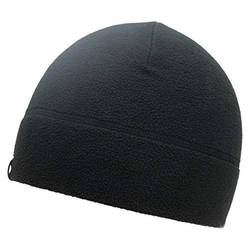 Temple Tape Tactical Fleece Watch Cap Beanie Black