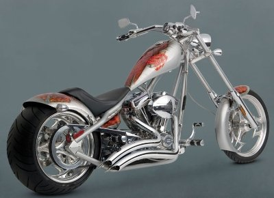 Vance Hines Big Radius (Vance & Hines Big Radius 2-into-2 Exhaust System Chrome 26037)