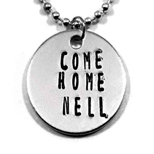 Amazon Com Haunting Of Hill House Come Home Nell Hand Stamped Necklace Handmade