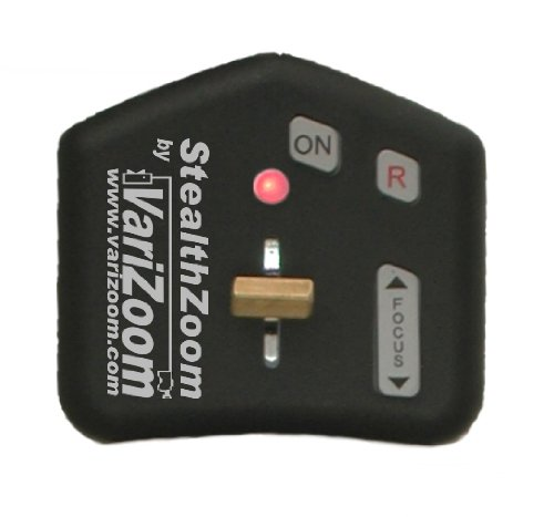 VariZoom VZ-Stealth Miniature Control for Prosumer DV Camcorders with LANC Jack by VariZoom