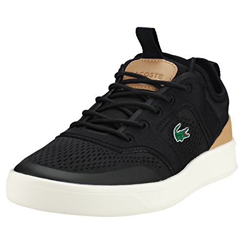 Lacoste Men Explorateur Light 2181 CAM Trainers, Black Black Tan