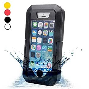 GJY IPX8 20m Universal Waterproof Underwater Case with Belt Clip and Strap for iPhone 4/4S iPhone 5/5S/5C(Assorted Colors) , Yellow