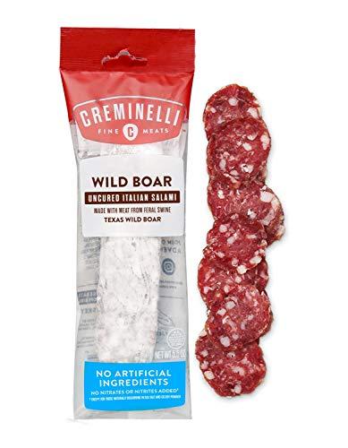 Creminelli - Italian Artisan Handcrafted Fine Meats, Wild Boar Salami, 5.5 Ounce ()