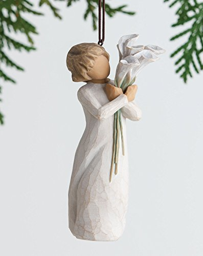 Willow Tree Hanging Ornament with S-hook (Beautiful Wishes, 27470) ()