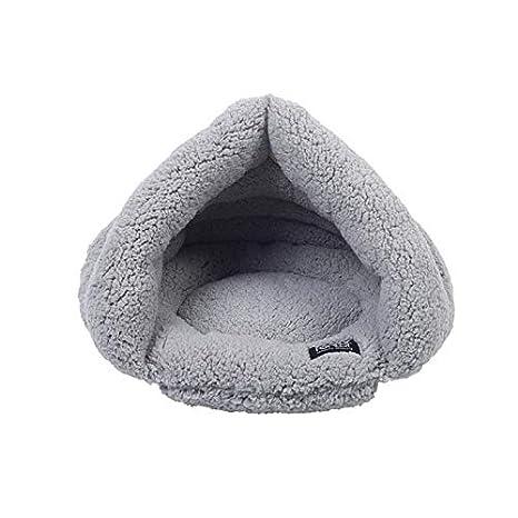Perro Gato Mascota Casa Cueva Cama, Cojín de Terciopelo de ...