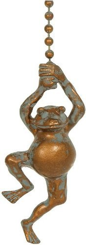 Frog PowerCoated Indoor/Outdoor Fan Pull Tuscan Antique FPG12