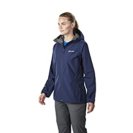 waterproof fall jacket for outdoor activity in the rain