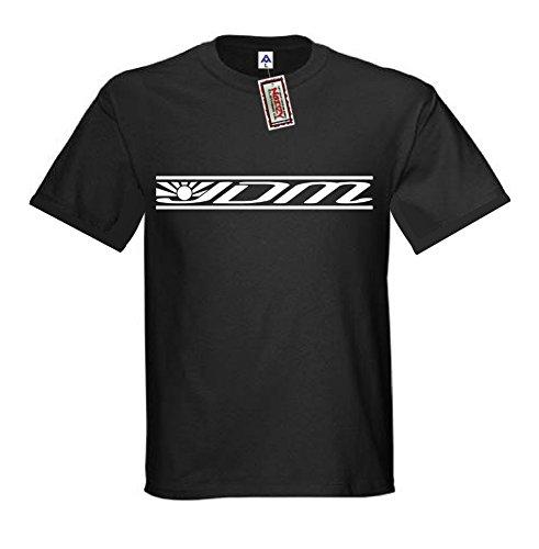 (JDM #4 Japanese Flag JDM Shirt Import T-Shirt Black Street Racing Gear 4XL XXXXL)