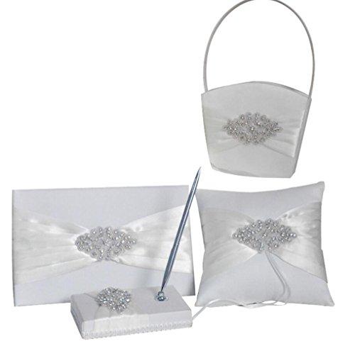 Crystals Flower Girl Basket - 2