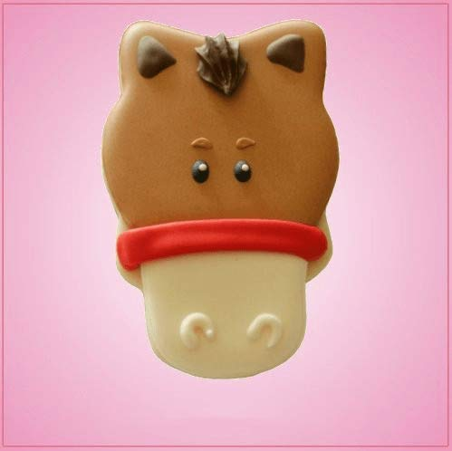 Horse Face Cookie Cutter-One Piece Only]()
