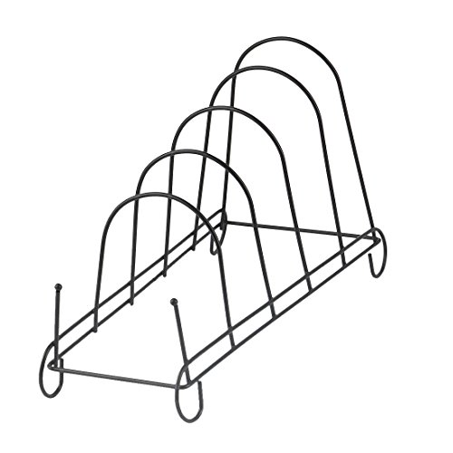 uxcell Metal Bowl Dish Plate Rack Drying Organizer Drainer S