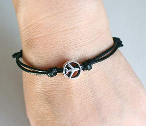 Bracelet Airplane - Airplane Bracelet for Men Women