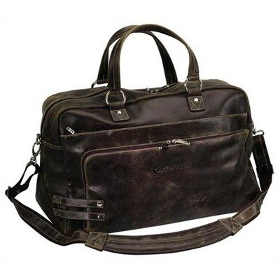 Bellino The Journey Leather Brief - Brown (Bellino Leather Backpack)