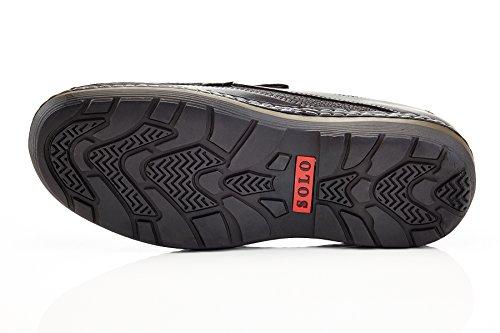 Work On Slip Black Parker Comfort Men's Brand 100 Casual Shoe Solo wYXZ4xB