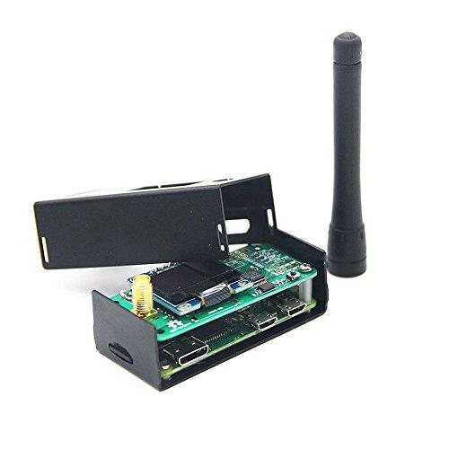 - Hima MMDVM Hotspot Spot Radio Station+ Antenna+OLED Display+ Black Case + Raspberry Pi-Zero W Support P25 DMR YSF D-Star UHF VHF Expansion Board WiFi Digital Voice Modem