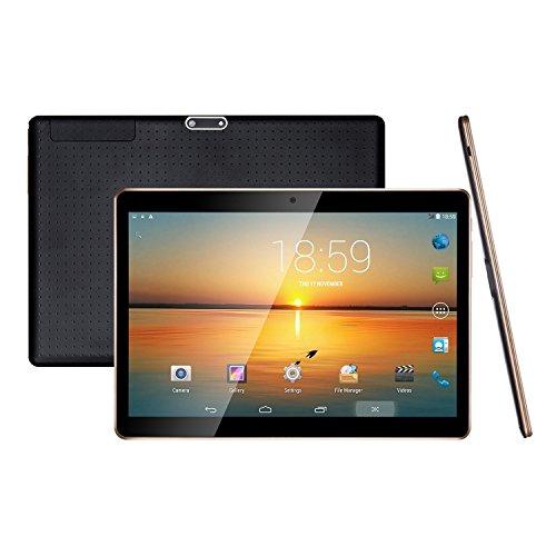 Tablet PC,Android 5.1 Lollipop,3G Dual SIM IPS Bildschirm 1280 x 800 Unlocked Smartphone Tablet PC,1GB RMA,16GB Speicher,WiFi Quad Core Computer,2MP vorne und 5MP hinten Kamera 5000 mAh Akku weiß