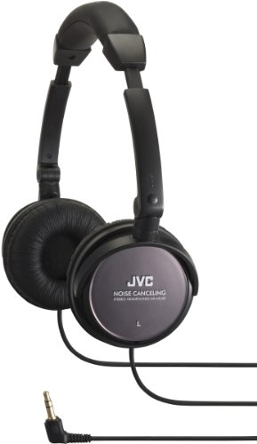 2T47712 - JVC HA-NC80 Noise Canceling Headphone,Black (Jvc Noise Cancelling Headphones)