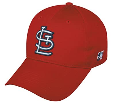 St. Louis Cardinals YOUTH Adjustable Baseball Hat - Officially Licensed Team MLB Cap from OC Sports Outdoor Cap Co.