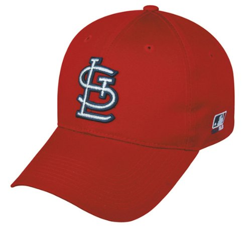 St. Louis Cardinals (Home - ST.L Logo) ADULT Adjustable Hat MLB Officially Licensed Major League Baseball Replica Ball Cap