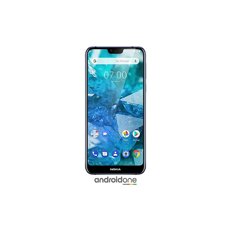 Nokia 7.1 - Android One - 64 GB - 12+5 M