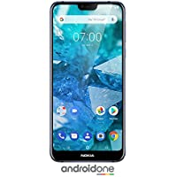 Nokia 7.1 - Android One - 64 GB - 12+5 MP Dual Camera -...