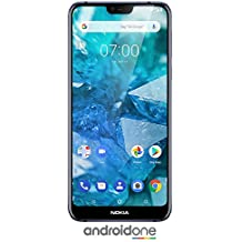 Nokia 7.1 - Android One - 64 GB - 12+5 MP Dual Camera - Dual SIM Unlocked Smartphone...