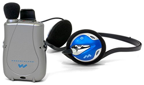 Williams Sound PocketTalker Ultra System with Rear-wear Headphone (Williams Sound Pocket)