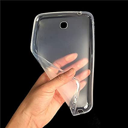 online retailer 14e2d 0ef76 Transparent Back Cover for Samsung Galaxy Tab 3 7.0: Amazon.in ...