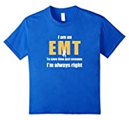 Cool T Shirts Shop EMT Gifts Funny Paramedic T-Shirt