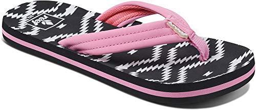 Reef Girls Ahi Kids Pool Beach Flip Flops Thongs Sandals - Loretto - 13/1US ()