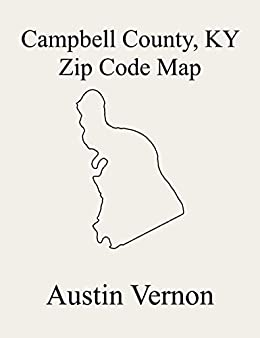 Amazon.com: Campbell County, Kentucky Zip Code Map: Includes ...