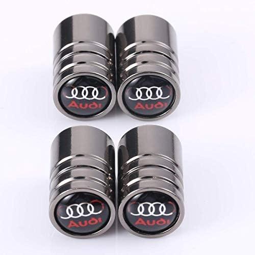 IGGY 4pz Tappi Coprimozzo Compatibile Nero 61mm A1 A3 A4 A5 A6 Q5 TT RS4 Q5 Q7 S4
