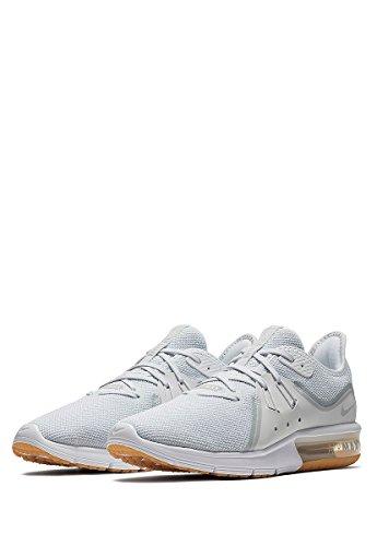 Pure Herren Nike 3 Air Schwarz Sequent Platinum White Max Laufschuhe 8ZZdc1qw