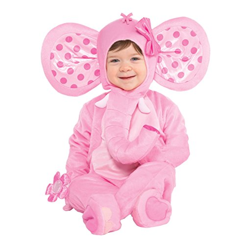 Amscan Baby Pink Elephant Costume - 6-12 Months for $<!--$28.01-->
