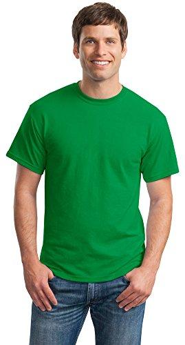 Gildan Mens DryBlend 50 Cotton/50 Poly T-Shirt, Large, Irish Green