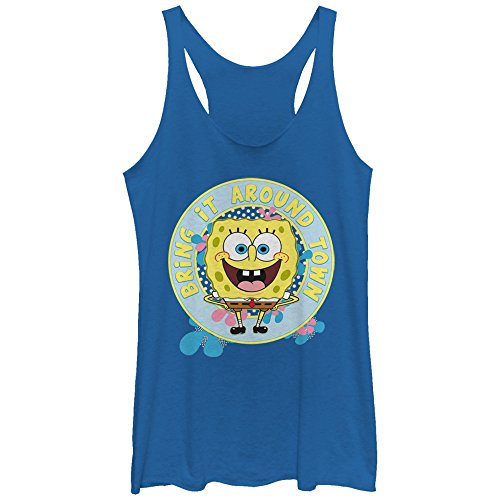 Spongebob Squarepants Women's Bring Around Town Royal Blue