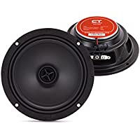CT Sounds Tropo 6.5 4 Ohm Car Full Range Ultra Shallow Coaxial Door Speaker
