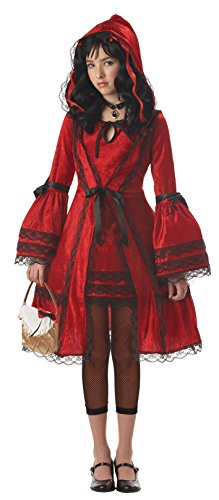 Gothic Red Riding Hood (California Costumes Girls Tween Red Riding Hood Costume, Large)