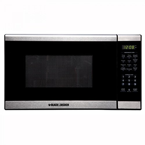 BLACK AND DECKER 700W - 0.7 Cubic Feet  Microwave