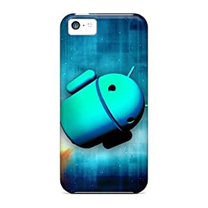 New Style SpaceSubs Space Droid 1 Premium Tpu Cover Case For Iphone 5c
