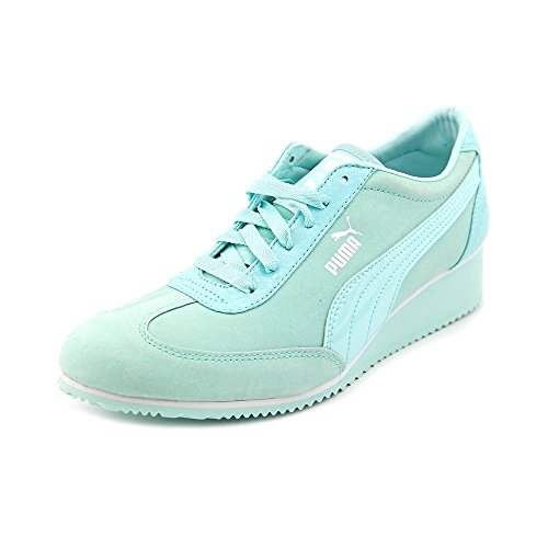 PUMA Women's Caroline NBK P Wn's Blue Light Sneaker 9 B (M) (Light Blue Puma Sneakers compare prices)