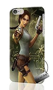 games tomb raider lara croft Unique Design Image Durable Hard iphone 6 PLUS 3D Case Cover For Iphone 6 Plus With 5.5 inches