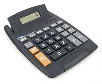 Calculator Grande calculatrice de bureau solaire 8 chiffres