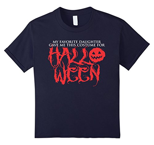 Kids Favorite Daughter Gave Me This Costume For Halloween T-shirt 12 (Father Daughter Costumes)