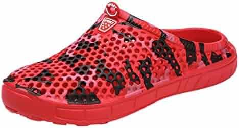 c15eb8415de HOSOME Men s Cozy Slippers Casual Men Camouflage Flats Platform Flip Flops  Antiskid Beach Shoes