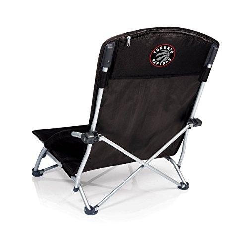 Toronto Raptors Folding Chair - NBA Toronto Raptors Tranquility Portable Folding Beach Chair, Black