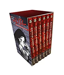 Includes print with new art by Yukito Kishiro, plus two additional prints, featuring beautiful metallic coating! The complete cyberpunk classic, now a major Hollywood film! This box set includes all five volumes of Battle Angel Alita plus a b...
